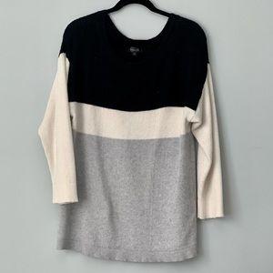 Amaryllis Color Block Oversized Sweater